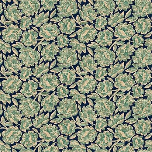 Henry Glass - Kim Diehl - Gratitude & Grace - Vintage Blue Floral
