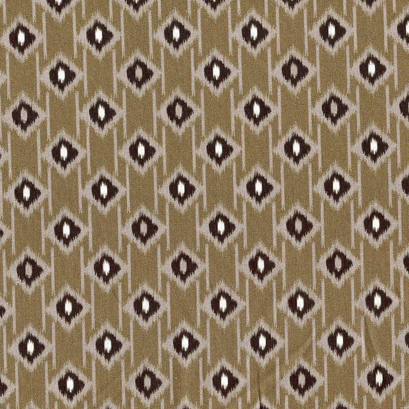In The Beginning Fabrics - Mini Ikats - Jacquard - Taupe