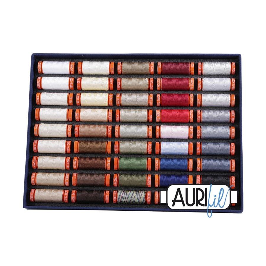 Aurifil Best Selection 50wt - 45 Spools
