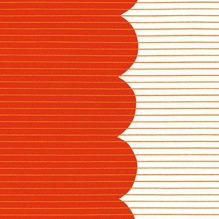 Robert Kaufman - Carolyn Friedlander - Harriot - Scallop - Tangerine