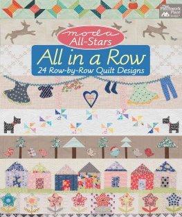 All in a Row - Moda All Stars book