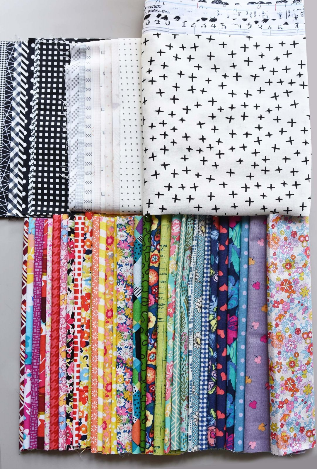 The Avenue - Large Kit - Fabric, Pattern & Templates