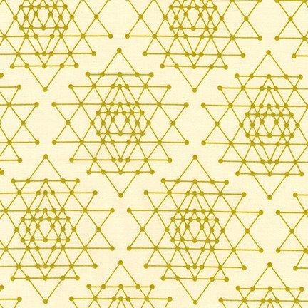 Robert Kaufman - Violet Craft - Palm Canyon - Geometric Star - Cactus