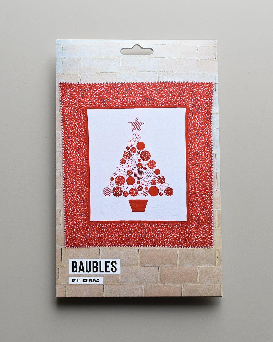 Baubles Pattern by Louise Papas