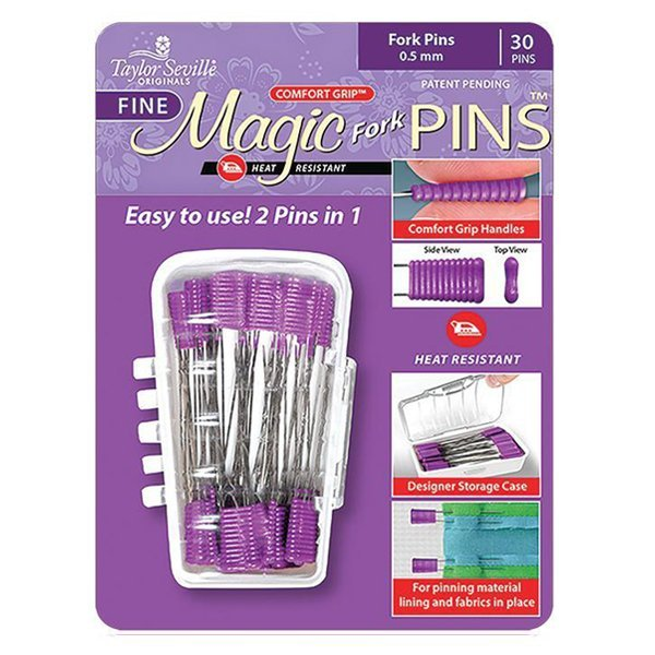 Taylor Seville - Magic Pins - Fine 0.5mm - Pack of 30