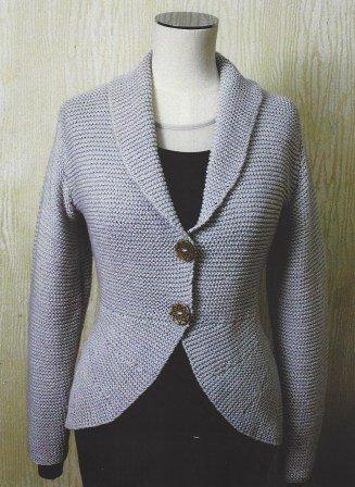 Bellissimo - Garter Stitch Jacket - Pattern