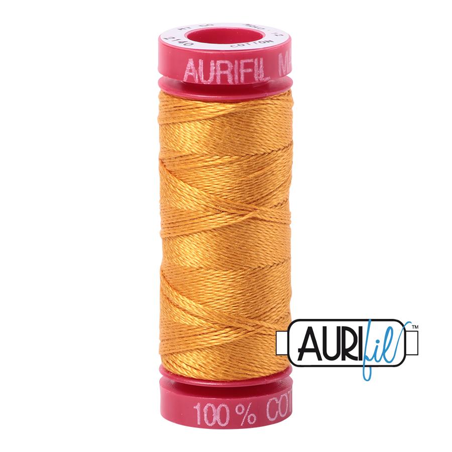 Aurifil 2140 - Orange Mustard