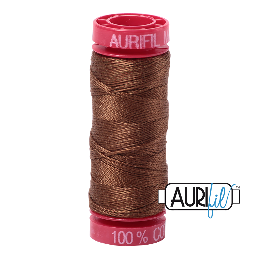 Aurifil 2372 - Dark Antique Gold