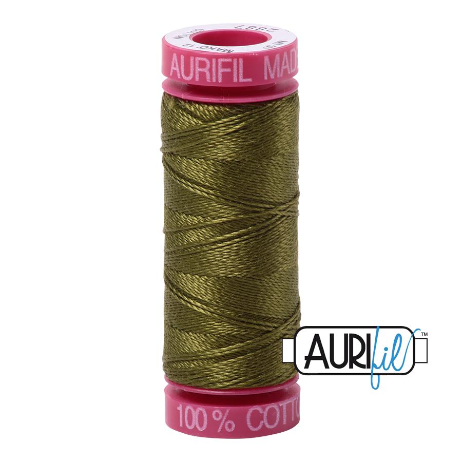 Aurifil 2887 - Very Dark Olive