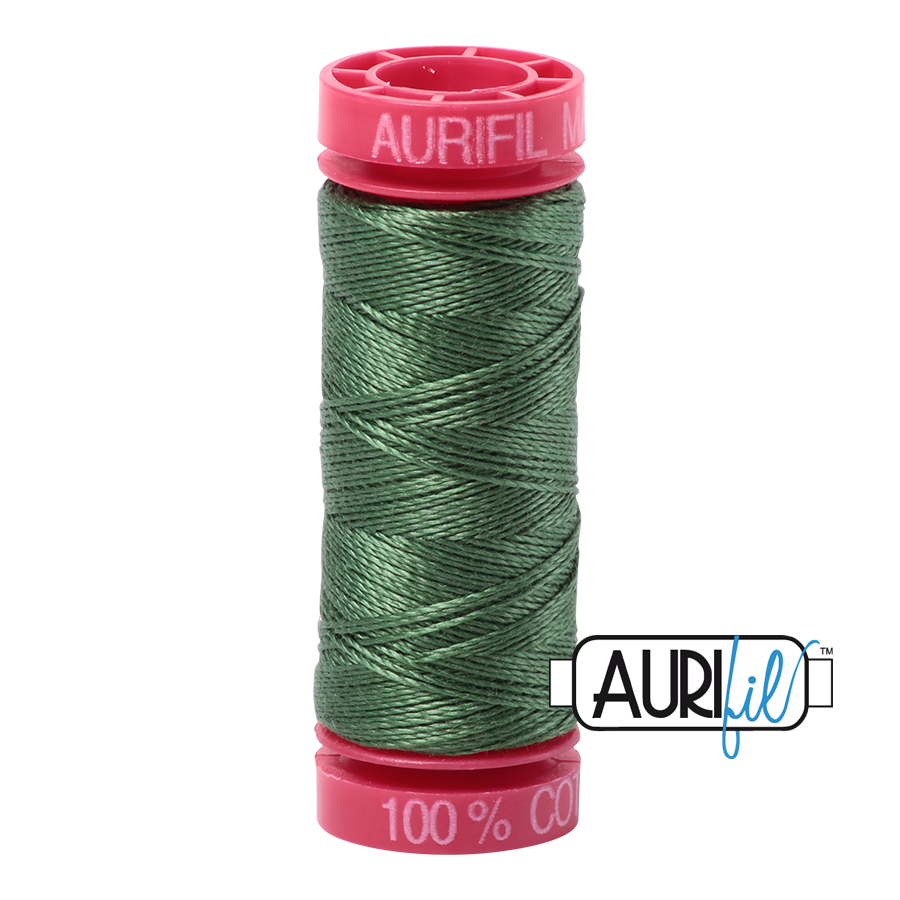 Aurifil 2890 - Very Dark Grass Green