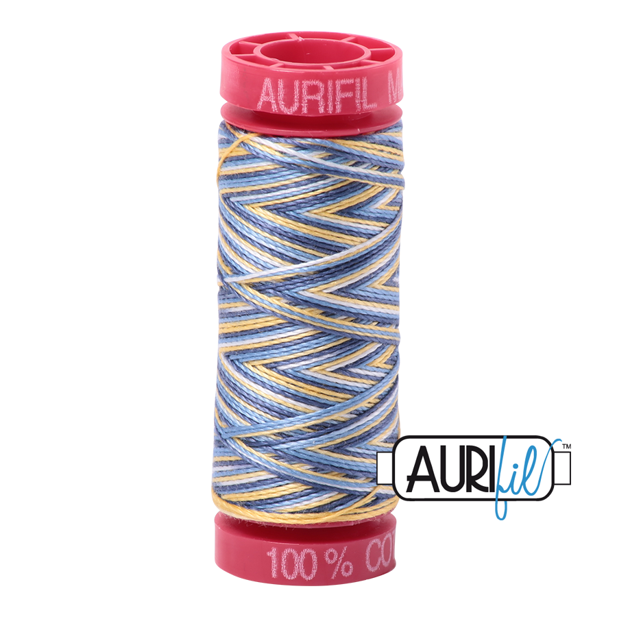 Aurifil 4649 - Lemon Blueberry