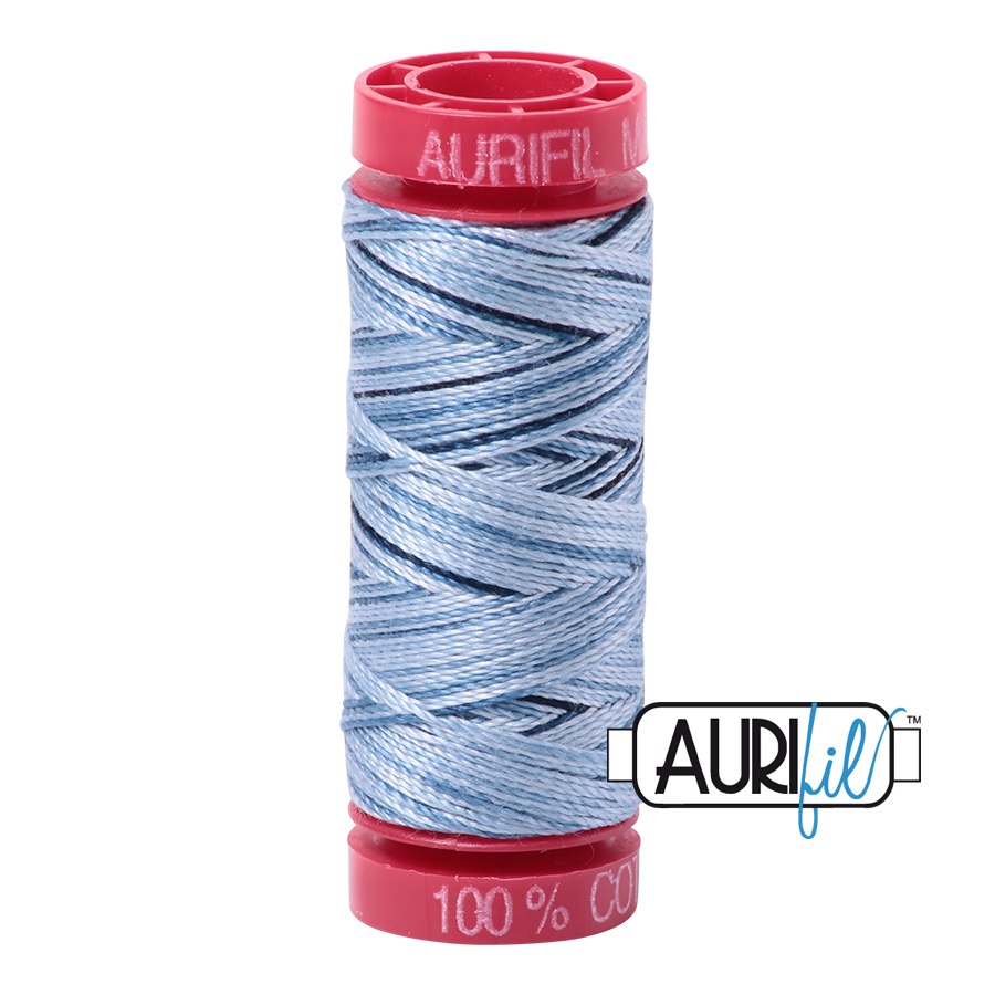 Aurifil 4669 - Stonewash Blue