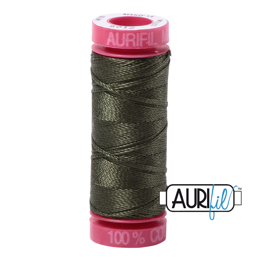 Aurifil 5012 - Dark Green