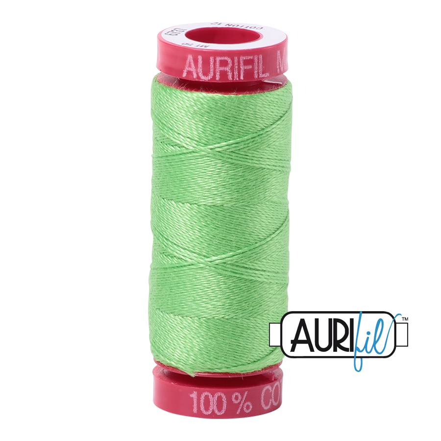 Aurifil 6737 - Shamrock Green
