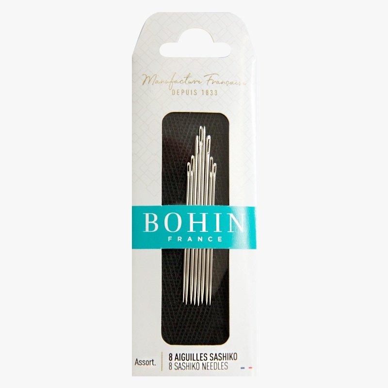 Bohin - Sashiko Needles - 8 pack assorted sizes