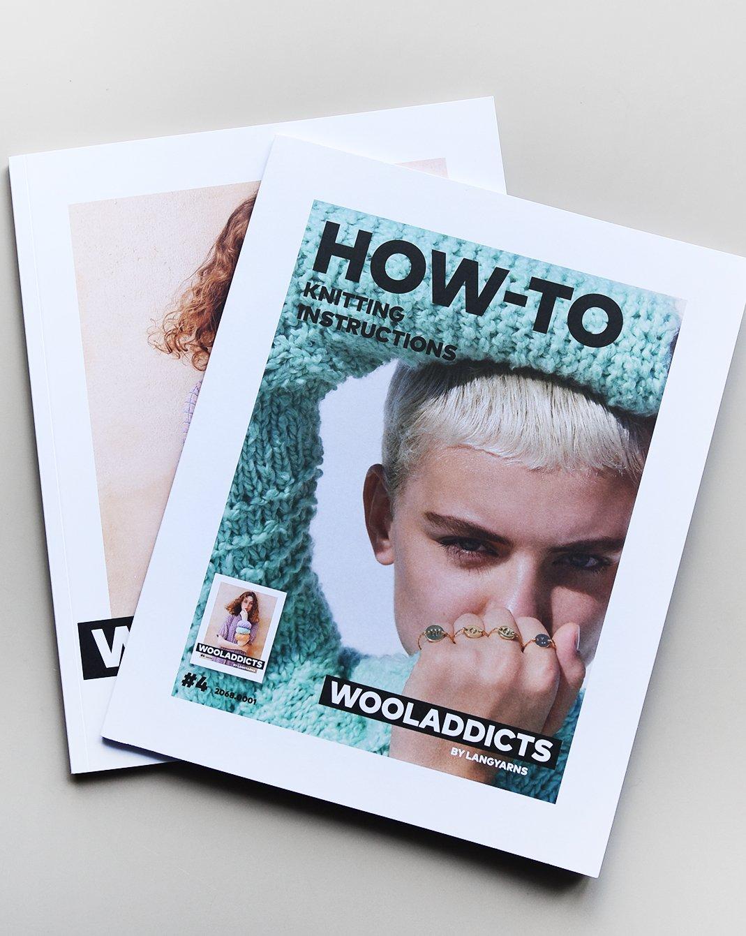 Lang Yarns Wool Addicts Pattern Book #4