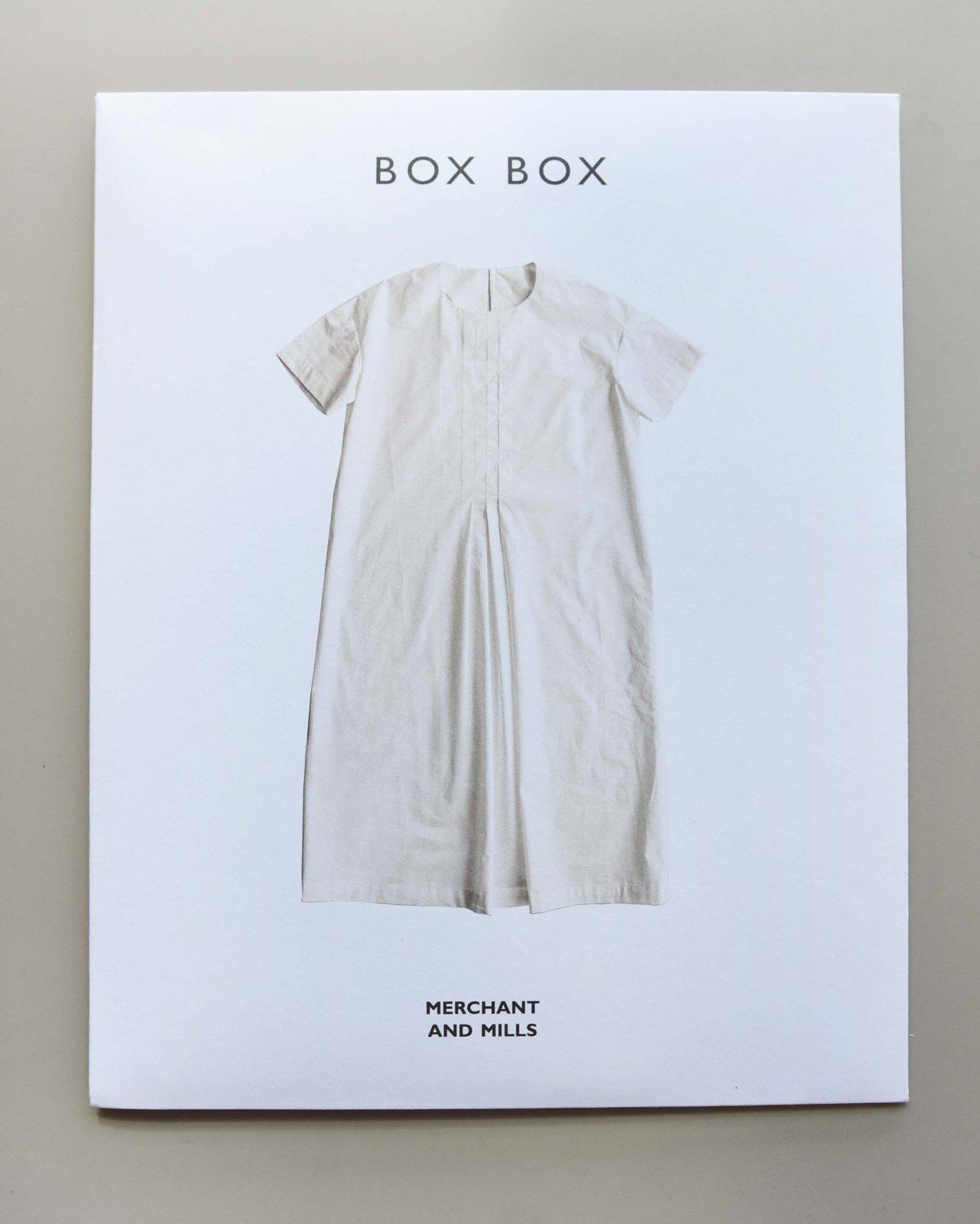 Merchant & Mills - The Box Box Pattern