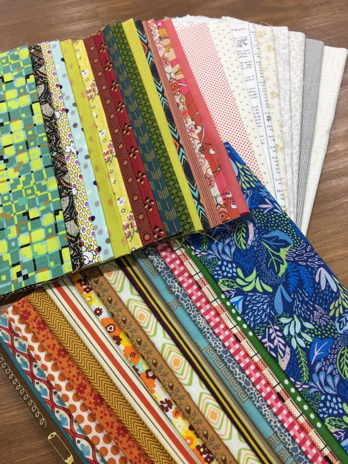 Bring Me Flowers - Starter Kit - Fabric & Pattern Booklet