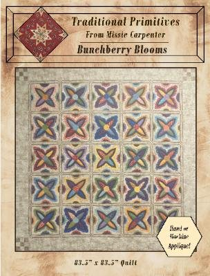 Bunchberry Blooms Pattern - Traditional Primitives