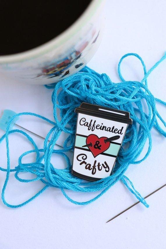 Pin Points - Jodie Carleton - Caffeinated & Crafty