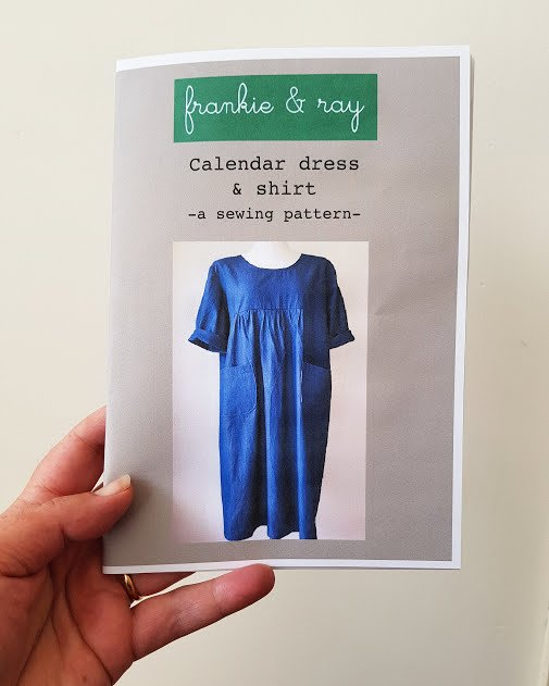 Frankie & Ray - Calendar Dress & Shirt Pattern