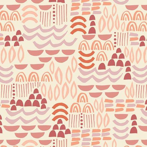 Art Gallery Fabrics - Terra Kotta - Artisanal Blocks