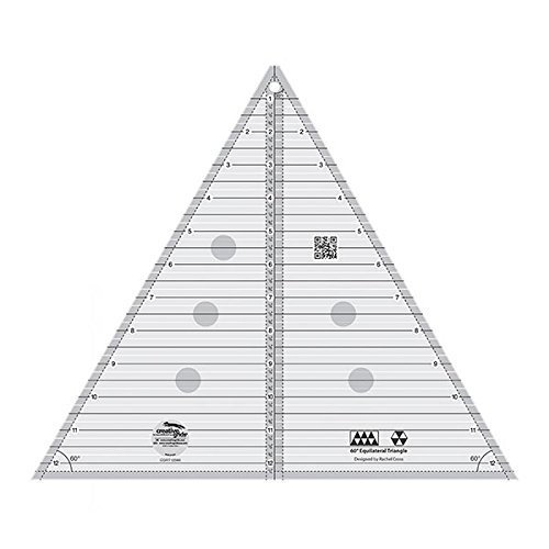 Creative Grids 60 Degree Equilateral Triangle 12