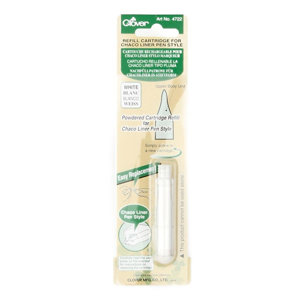 Clover Chaco Refill Cartridge White