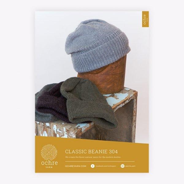 Ochre Yarn - Classic Beanie 304 Pattern