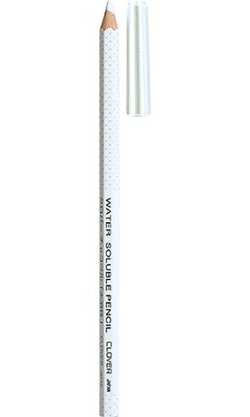 Clover Water Soluble Pencil White