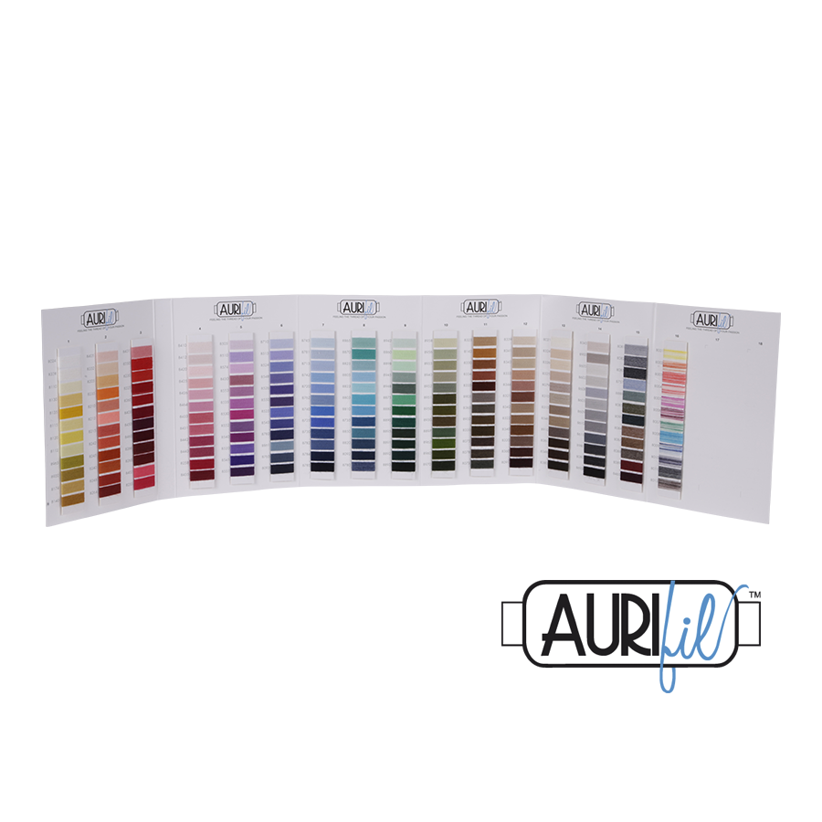 Aurifil Lana Wool Blend Colour Chart