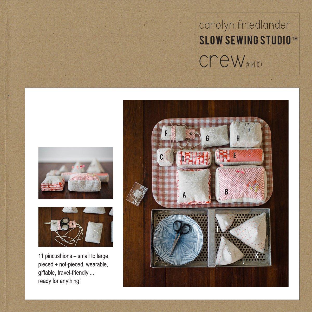 Crew Pattern by Carolyn Friedlander