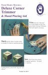 Marti Michell - Deluxe Corner Trimmer & Hand Piecing Aid