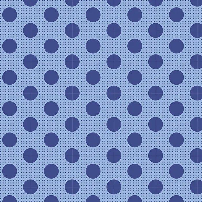 Tilda - Medium Dots - Denim Blue