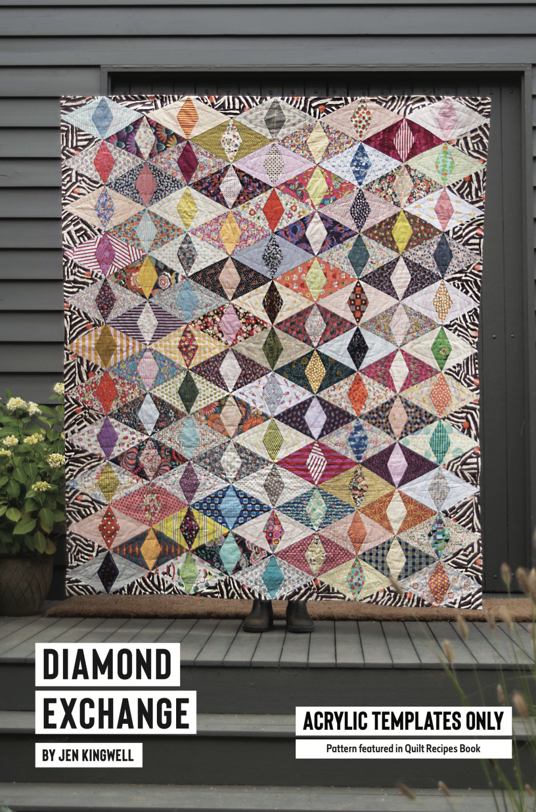 Diamond Exchange Acrylic Template Only Set from Quilt Recipes by Jen Kingwell