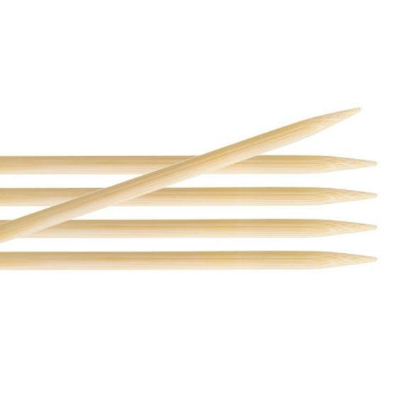 Knit Pro - 15cm Bamboo Double Pointed Needles 3.75mm