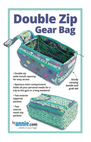 Patterns by Annie - Double Zip Gear Bag