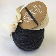 Ochre Yarn - 4ply Merino/Yak/Silk - 20g/80m - #59 Midnight