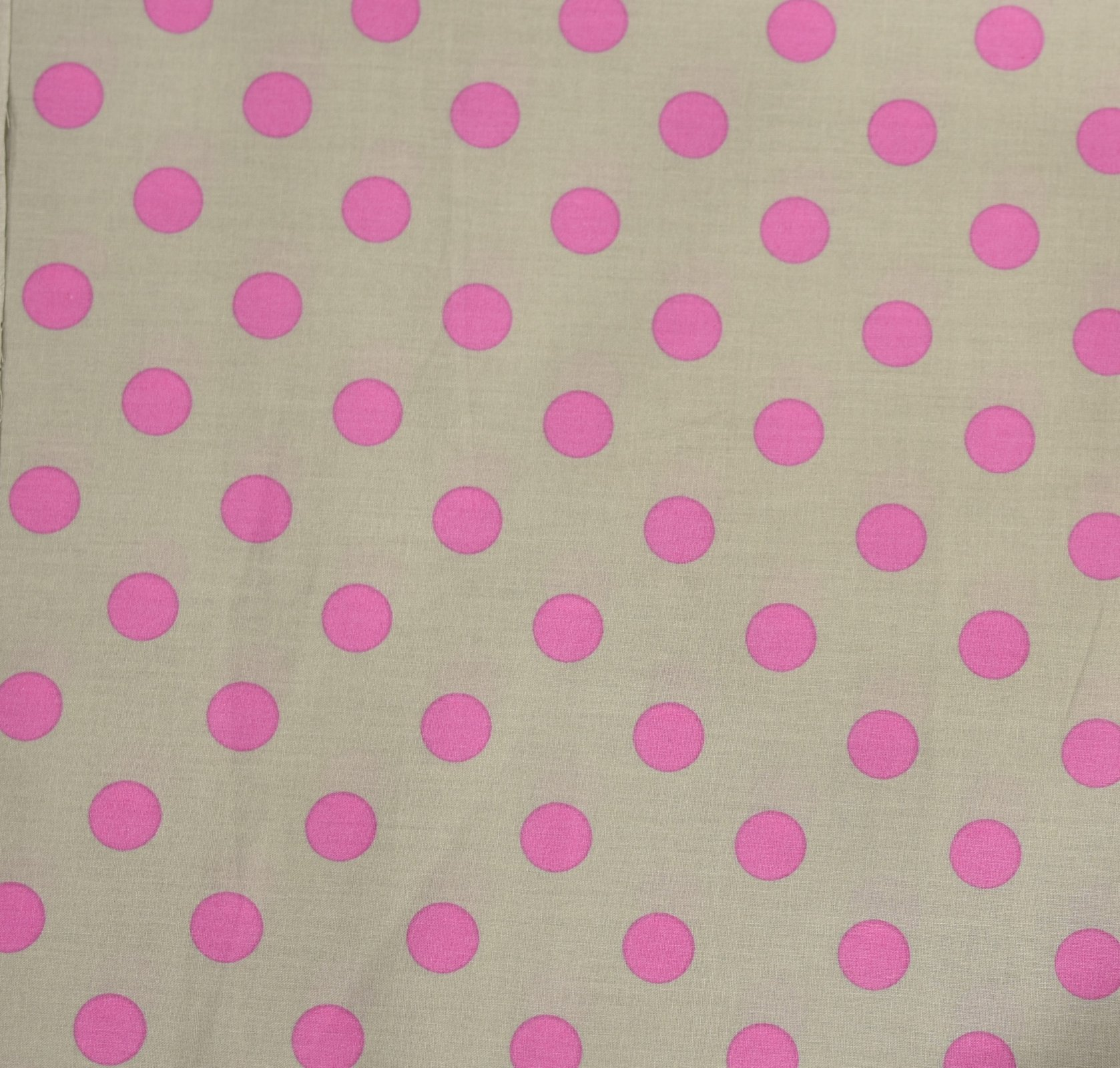 Japanese Fabric - Color Cocktails - Spots - Soft Grey/Pink