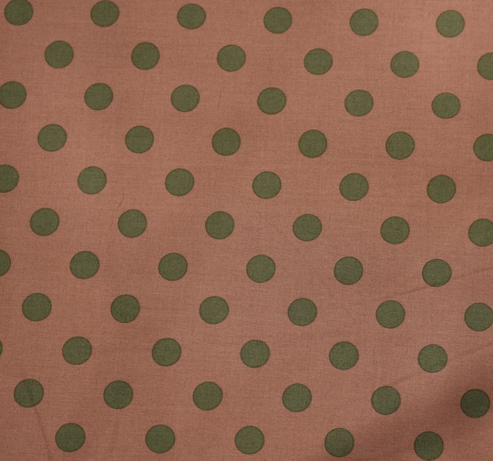 Japanese Fabric - Color Cocktails - Spots - Dusty Rose/Grey