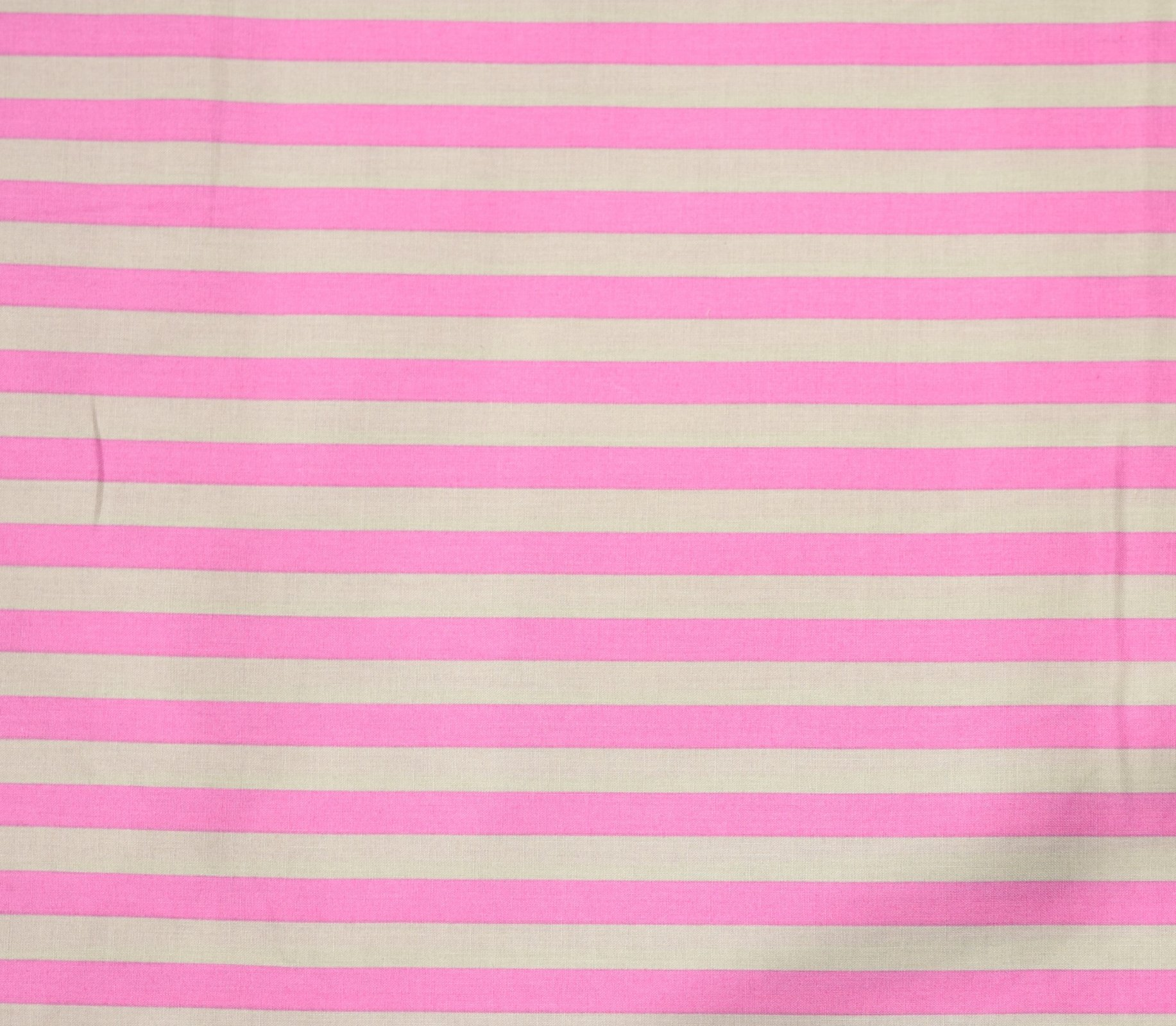 Japanese Fabric - Color Cocktails - Thick Stripe - Soft Grey/Pink