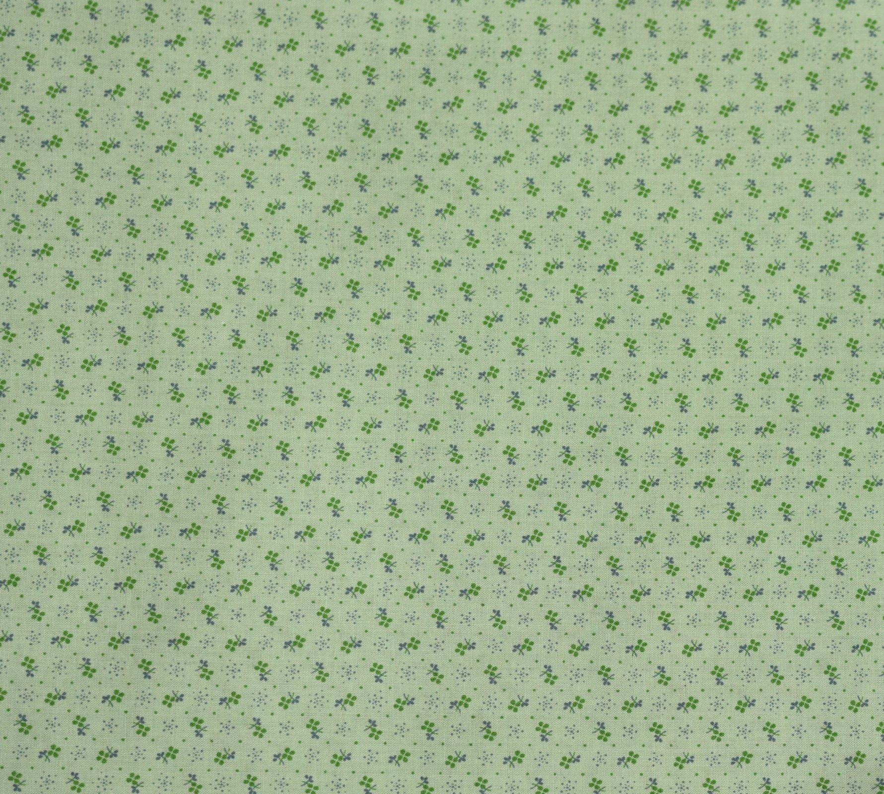 Handworks - Mini Spot Ditsy - Mint Green