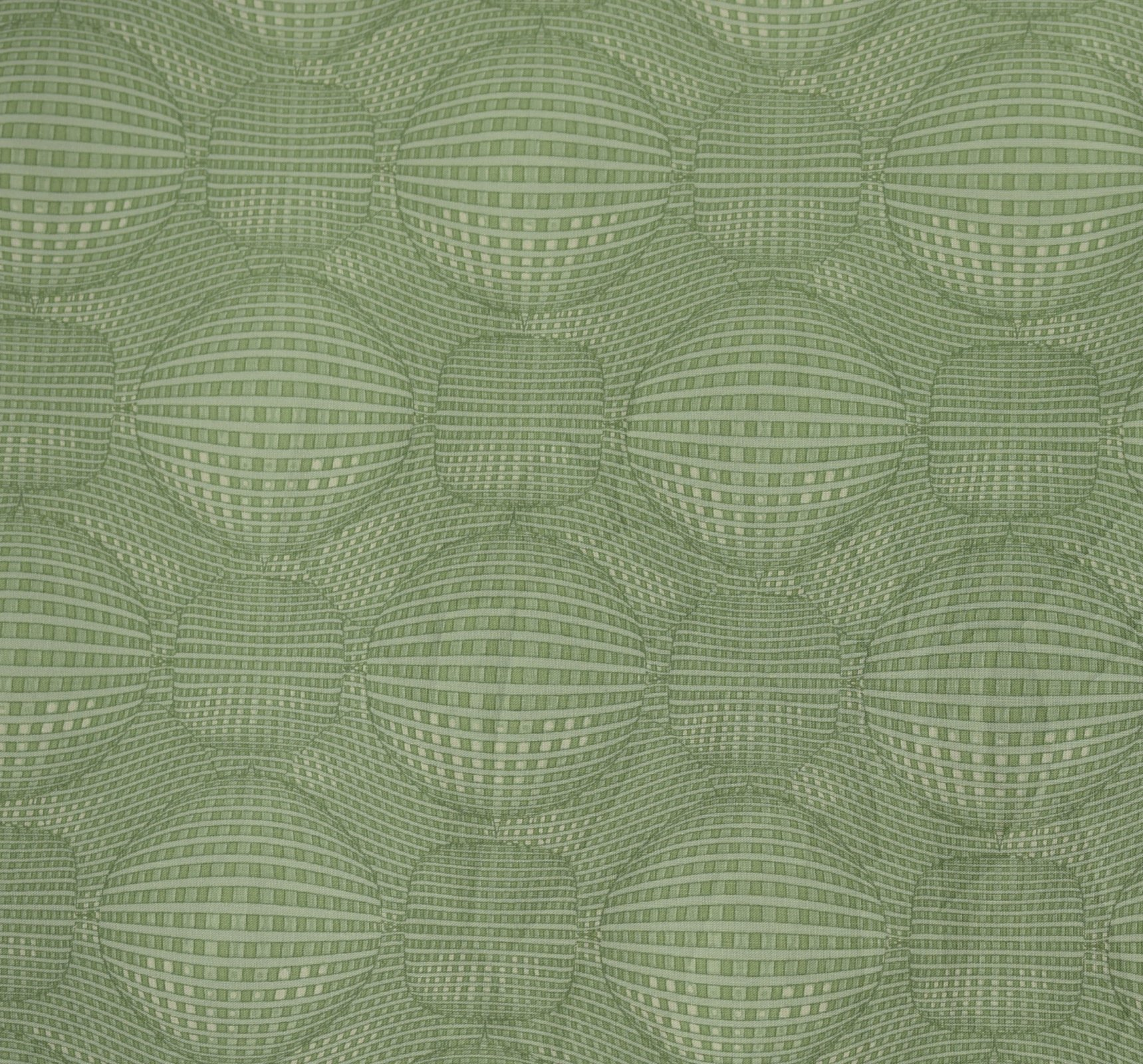 Kei Textiles - Rythme - Graphic Sphere - Strong Mint