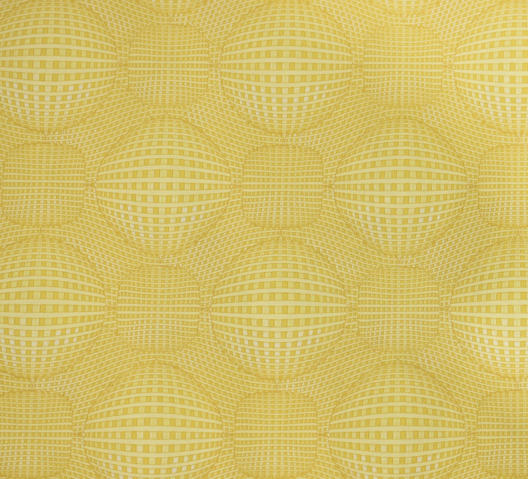 Kei Textiles - Rythme - Graphic Sphere - Yellow