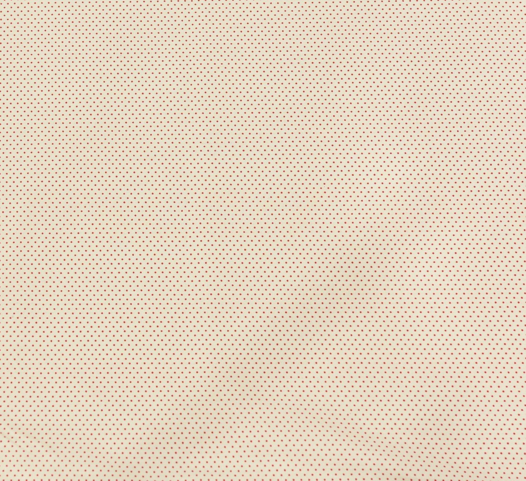 Sevenberry - Micro Spot - Red on Cream
