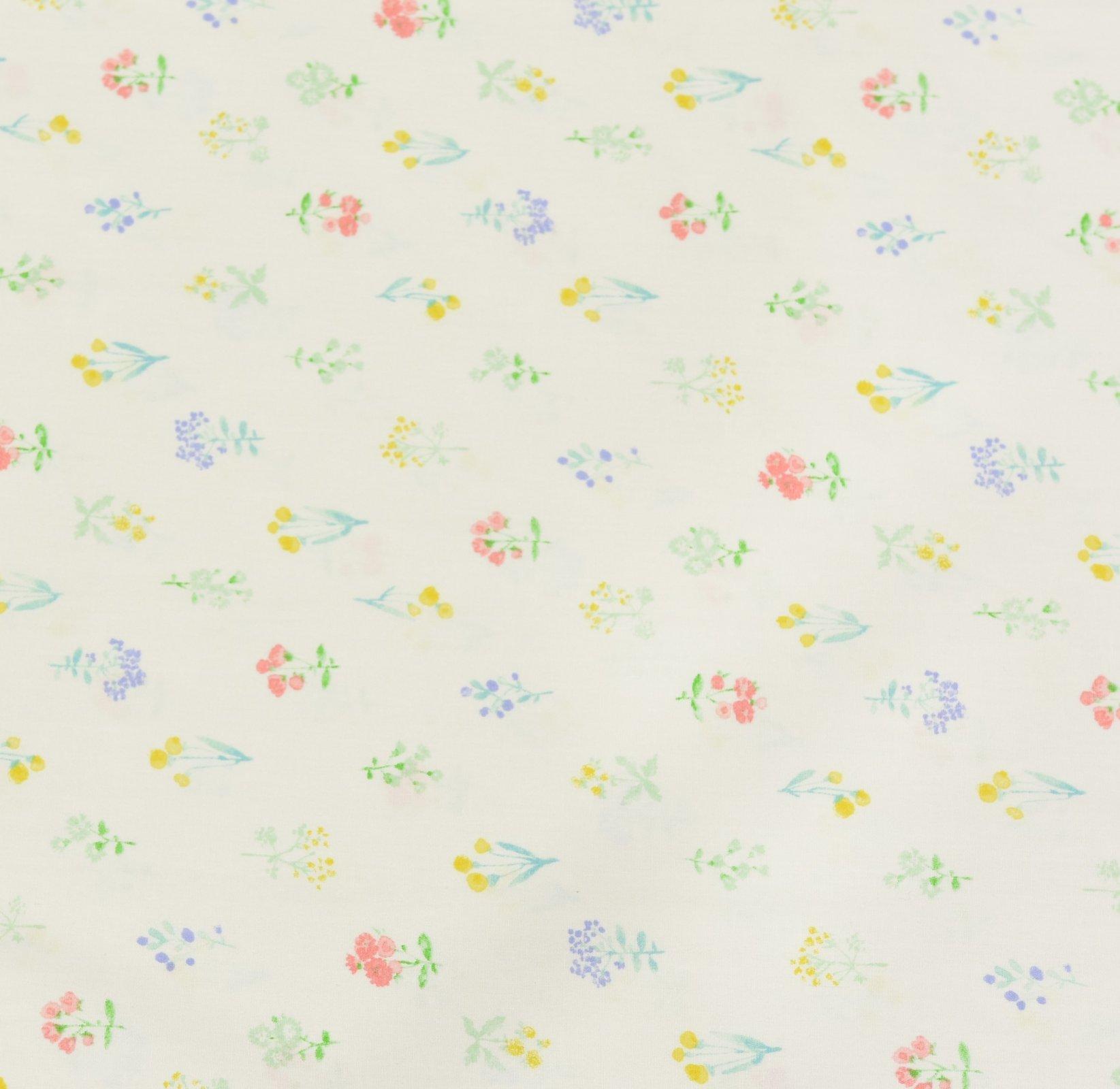 Sevenberry - Watercolour Floral - White