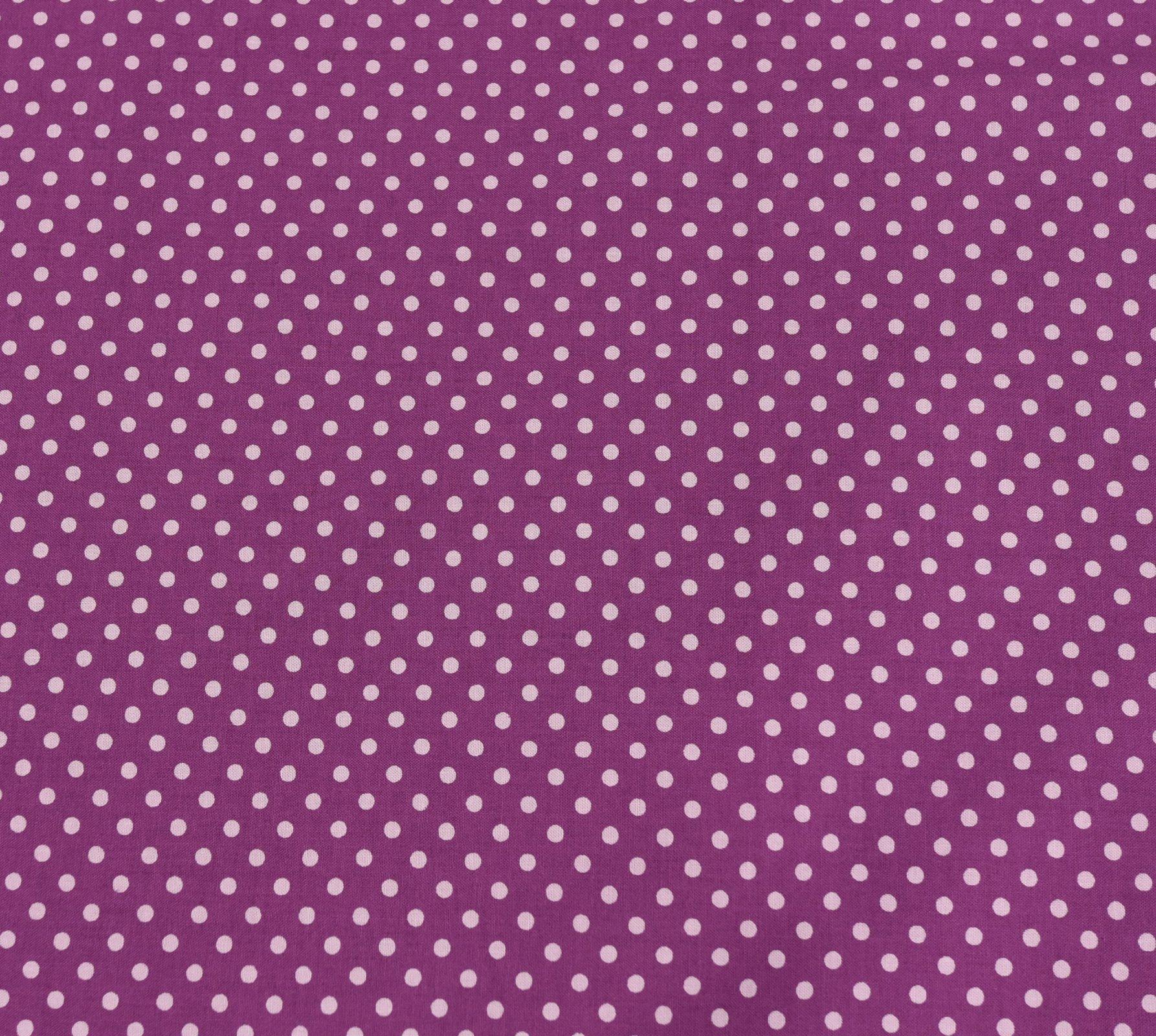 Sevenberry - Medium Dot - Pink on Purple