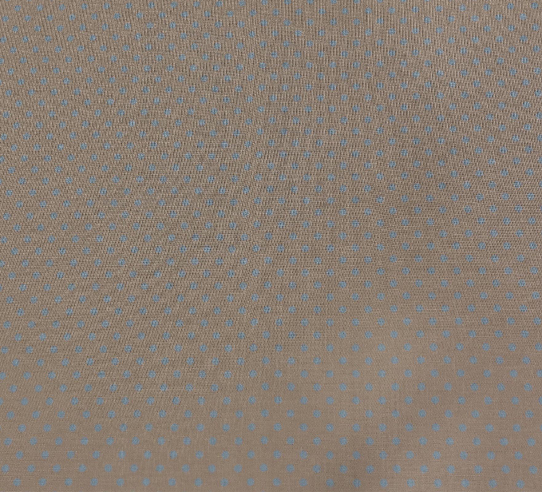 Sevenberry - Medium Dot - Blue on Grey