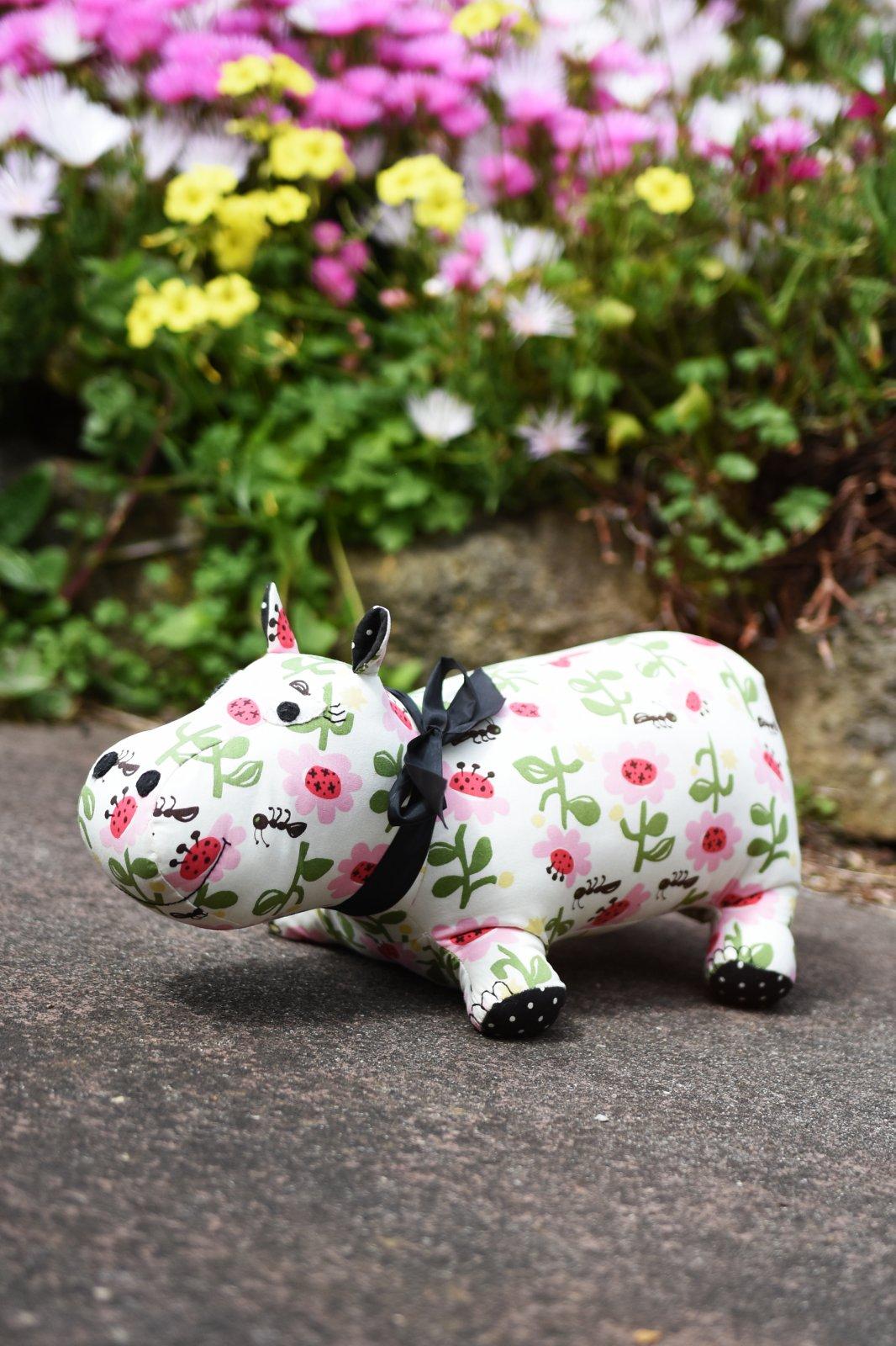 Henrietta the Hippo by Louise Papas
