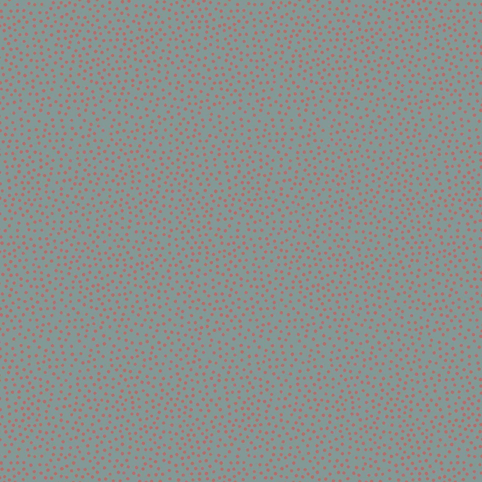 Tilda - Devonstone Collection - Heartstrings Birdhouse - Blue with Brown Spots